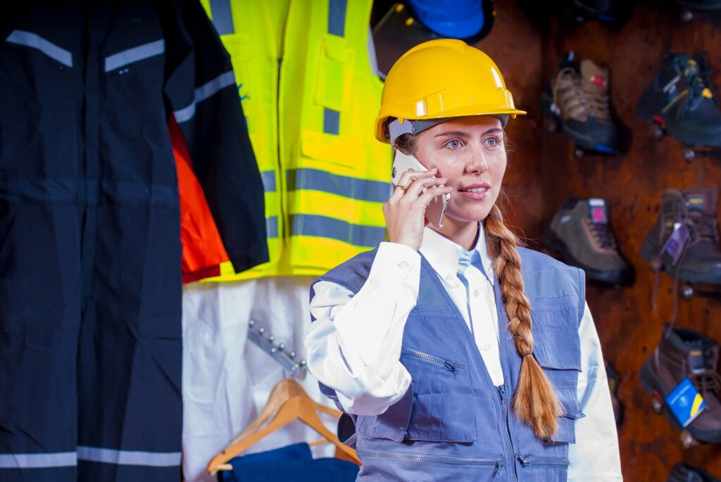 Using two way radios for emergency communication instead of cell phones